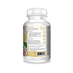 Actif Organic Prenatal Vitamin with 25+ Organic Vitamins, 100% Natural, DHA, EPA, Omega 3, and Organic Herbal Blend – Non-GMO, 90 Count