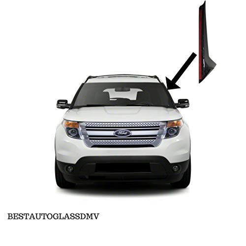 NAGD Passenger//Right Side/ Outer /&Inner Pillar Trim Molding Replacement Complete Set for 2011-2019 Ford Explorer/ Front Windshield