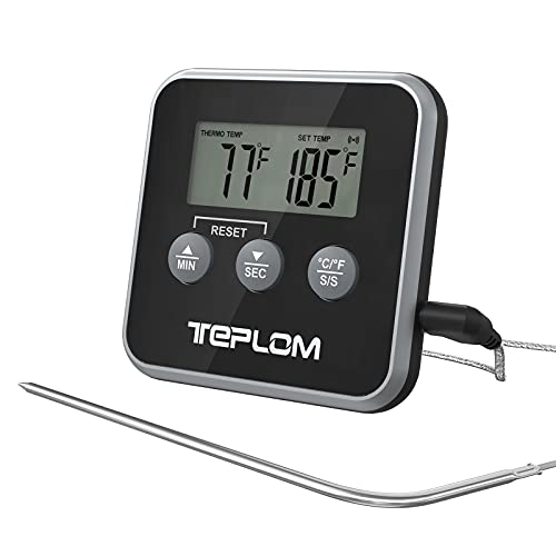 Teplom Meat Thermometer Digital Cooking Thermometer with Smart Kitchen...