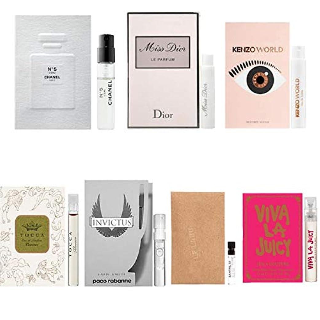 したい落ちた安らぎ女性用 Eau de Parfum/Eau de Toilette, for Women Samples 7/set [海外直送品] [並行輸入品]
