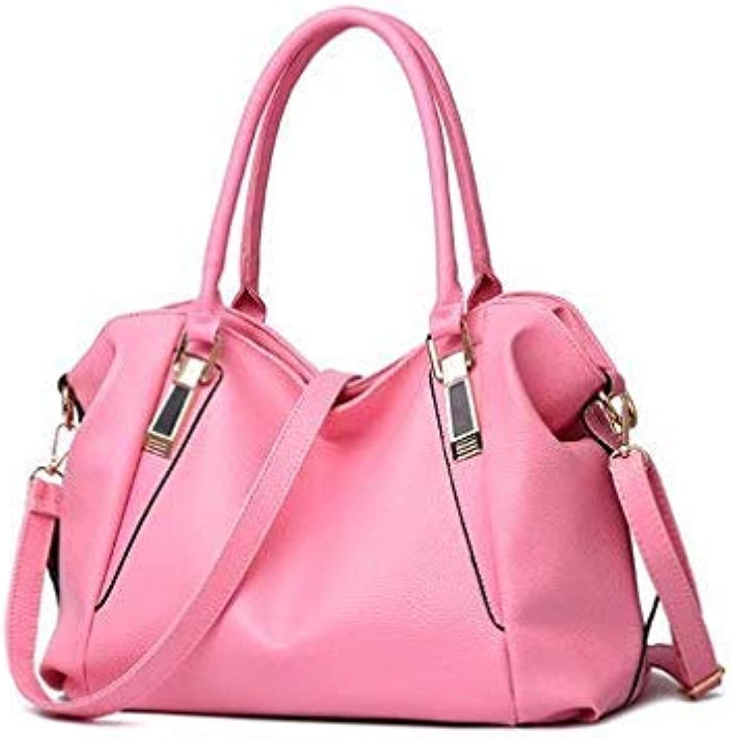 Bloomerang I AM LX 2016 Women Fashion Handbag Shoulder Bag Women Messenger Bags Ladies pu Leather Handbags Totes Handbag bolsas color Pink Women Handbag