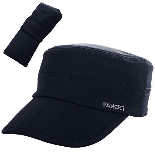 Comhats - Gorra de béisbol para hombre, plegable, clásica, impermeable, de secado rápido, ajustable al aire libre 00036_Azul marino M