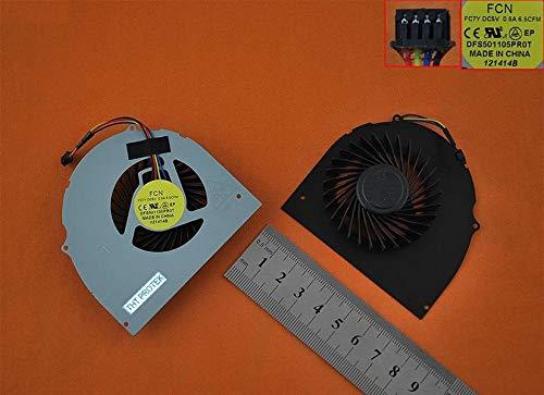 Kompatibel für Dell Latitude E6540 Lüfter Kühler Fan Cooler, V0NGD, 0V0NGD
