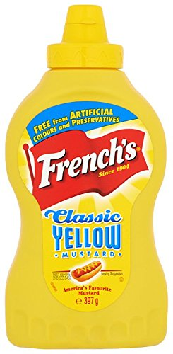 French's Classic Yellow Mustard 397 g (Pack of 4)