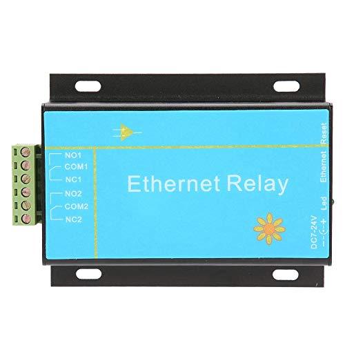 Ethernet-Controller-Modul, HHC-N2DC-Ethernet-2-Kanal-Relaisplatinen-Verzögerungsschalter Smart Home-Controller-Modul