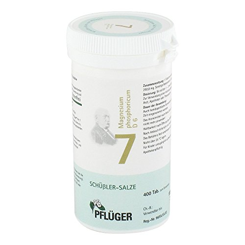 Pflüger Schüßler-Salz 7 Magnesium phosphoricum D6, 400 St. Tabletten