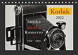 KODAK Antike Kameras 1912 - 1968 (Tischkalender 2022 DIN A5 quer): In diesem hochwertigen Fotojahreskalender werden Sie mit interessanten Motiven von ... zurück versetzt. (Monatskalender, 14 Seiten )