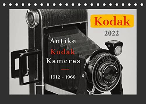 KODAK Antike Kameras 1912-1968 (Tischkalender 2022 DIN A5 quer)