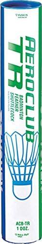 YONEX Aeroclub TR Badminton Sports Training Feather Shuttlecocks Tube of 12 product image