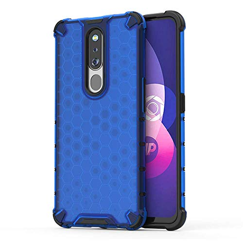 Prime Retail TPU+PC Dual Layer Honeycomb Pattern Shockproof Back Case Cover for...
