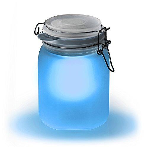 Suck UK Bocal solaire - Bleu