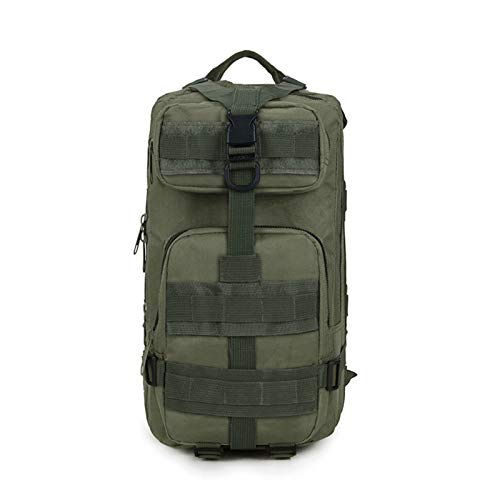 N\A 1Pcs Outdoor sports camouflage backpack army fans mountaineering backpack backpack 3P tactical backpack ski accessories (Color : Army Green)