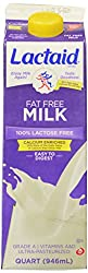 Lactaid Fat Free Milk, Calcium Enriched, 32 fl oz