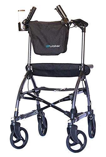 Image of UPWalker Original Upright Walker – Stand Up Rollator Walker & Walking Aid with Seat – Standard Size