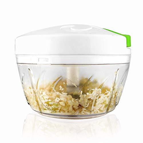 Manual Food Chopper, Onion Chopper, Pull String Chopper for Veggie, Garlic, Salsa Maker