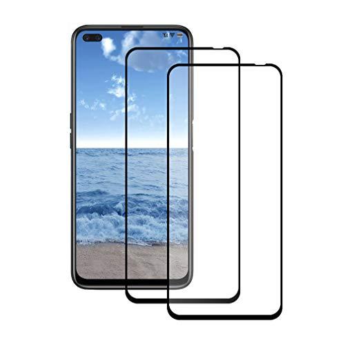 LPCJ 【2 pièces Protection d'écran pour Realme 6 Pro/Realme X50 5G,Verre Trempé pour Realme 6 Pro/Realme X50 5G,Realme 6 Pro/Realme X50 5G Verre trempé