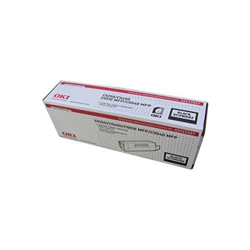 OKI Lasertoner/42127457 C5250BK, schwarz