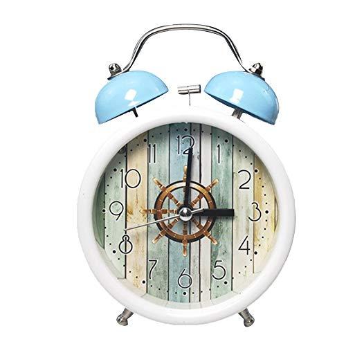 1個 目覚まし時計 大音量 着メロ 寝室ホームオフィス 置き時計 アラームクロック 多機能