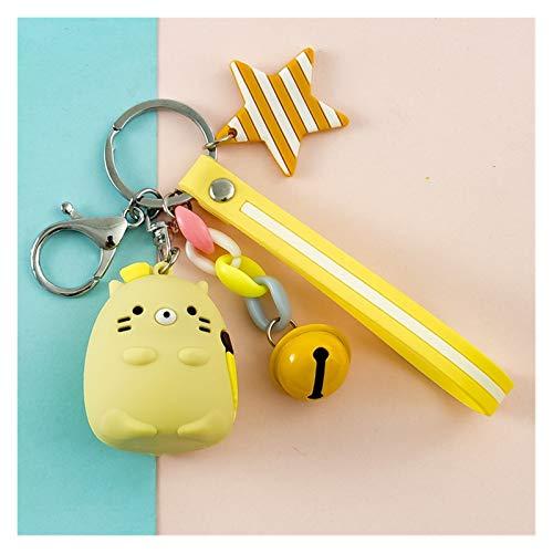 YSJSPOL Schlüsselbund Cute Japanese Corner Bio PVC Schlüsselanhänger for Schlüssel Cartoon Abbildung Anhänger Schlüsselanhänger for Frauen-Tasche Autoanhänger Geschenk (Color : 03)