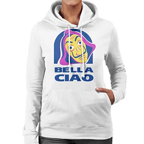 Bella Ciao Tacos Taco Bell Logo Mashup Women's Hooded Sweatshirt