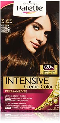 Palette Intense - Tono 3.65 Castaño Medio Chocolate - 2 uds - Coloración...