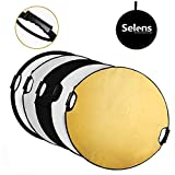 Selens 32 in (80cm) 5-in-1 Round Reflector with Handle