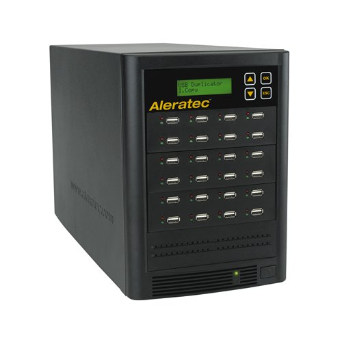Aleratec Direct V2 USB HDD Copy Tower Duplicator Optical Drives 330121 Black