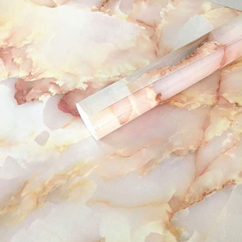 40 cm x 200 cm elegante mármol adhesivo papel cáscara palo de granito vinilo papel pintado película cocina baño encimera etiqueta muebles mármol pegajosa parte posterior rollo plástico