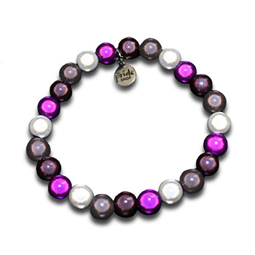 LGBT Pride Asexual Holographic Bracelet