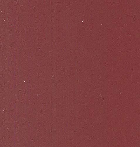 TS Jalousie aus Aluminium mit Lamellen von 50 mm – Leiterbänder aus PVC NEWFLEX – Made in Italy – unsere Produktion – maßgefertigt und personalisiert (rot)