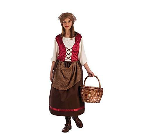 Disfraz de Posadera Marrón para niña