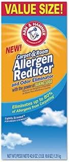 Set of 2 Arm & Hammer 42.6 oz Carpet and Room Allergen Reducer and Odor Eliminator Shaker Box bundled by Maven Gifts
