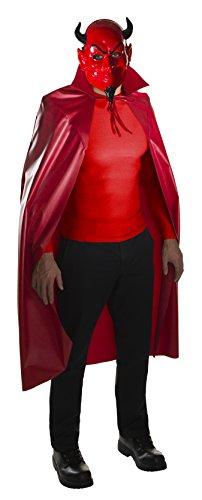Rubie's Costume Co Scream Queens Devil Mask & Cape Set, Red, One Size