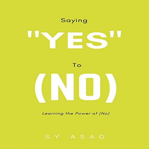 """Saying """"Yes"""" to (No) audiobook cover art"""