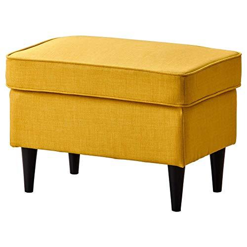 IKEA ASIA STRANDMON Fußhocker Skiftebo gelb