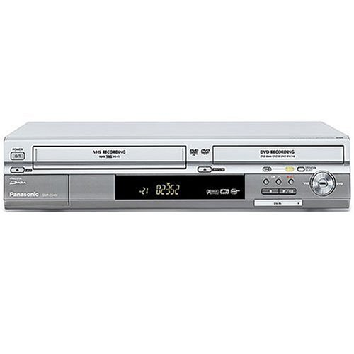 Great Price! Remanufactured Panasonic  DMR-ES40VS VHS / DVD Recorder Silver