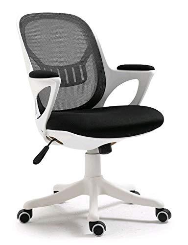 HYXI-Chair Office Mid Back Swivel Lordosenstütze Swivel Home Comfort Gaming Stühle mit hautfreundlichem Netz für Erwachsene und Kinder