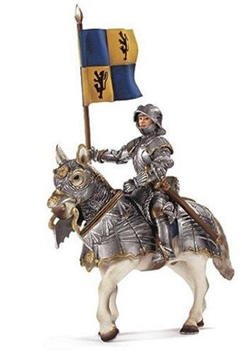 SCHLEICH 70008 - Fahnenträger auf Pferd