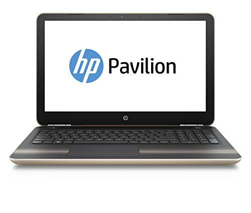 HP Pavilion (15-au013ng) 39,6 cm (15,6 Zoll / FHD-Display) Laptop (Intel Core i7-6500U, 8 GB RAM, 1 TB HDD, 128 GB SSD, Nvidia GeForce 940M, Windows 10) gold