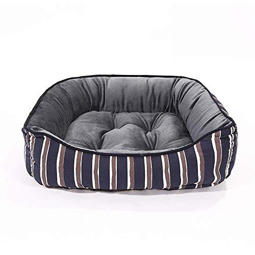 Suave Perro Banco de cama estampada camas for perros de lona Calchotenas Pequeña Mediana Grande perros de perrito Cama del gato del animal doméstico del perro de la perrera cama Sofá Casa en Cat Pet P