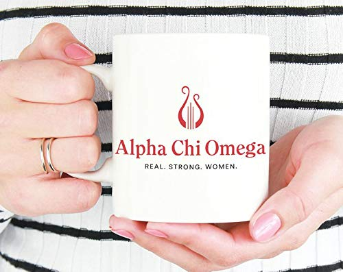 AXO Alpha Chi Omega Logo Mug Sorority Coffee Mug