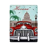 Cartel retro de La Habana cartel de pared de hojalata cartel de pared de Metal de hierro decoración de pared de aluminio placa decoración Cafe Bar 30x40cm