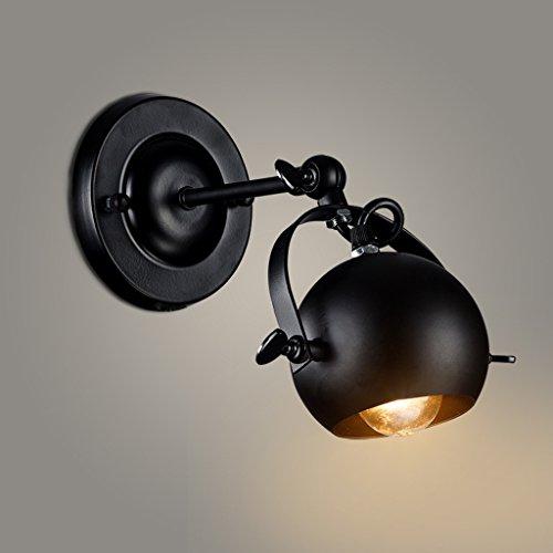 Retro Industrial Suction plafonnier led led magasin de vêtements éclairage bar bar salon phare lampe de plafond applique murale lampe (blanc)