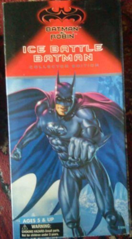 Batman & Robin 12  Ice Battle Batman by Kenner