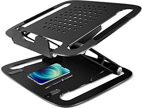 Soporte para portátil Soporte ergonómico de aluminio ajustable para portátil