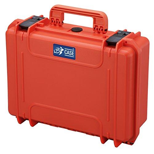 TAF Case 400 - Outdoor Koffer Staub- und wasserdicht, IP67 orange