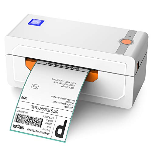 Alfuheim Thermal Shipping Label Printer 4x6 - High Speed Printing at 150mm/s -Barcode Printer for Shipping Compatible with UPS WorldShip,Etsy,Ebay,Amazon,Shopify,etc
