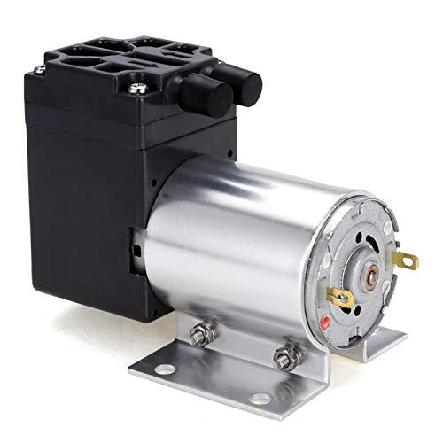 L-Yune,bolt 1pc Mini succión del vacío de la Bomba 12V 6W de Alta presión de succión de la Bomba de diafragma de presión Negativa de la Bomba de succión con el sostenedor 5L / min