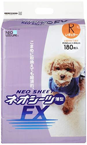ネオ・ルーライフ ネオシーツ FX 犬用 レギュラー 180枚入