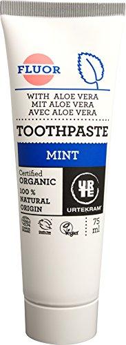 Urtekram Mint tandpasta Bio, met fluoride, 75ml